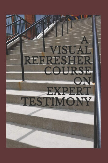 A Visual Refresher Course on Expert Testimony by David C. Sarnacki